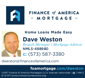 Dave Weston: Finance of America Mortgage