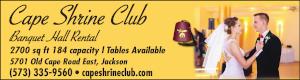 Cape Shrine Club Banquet Hall Rental
