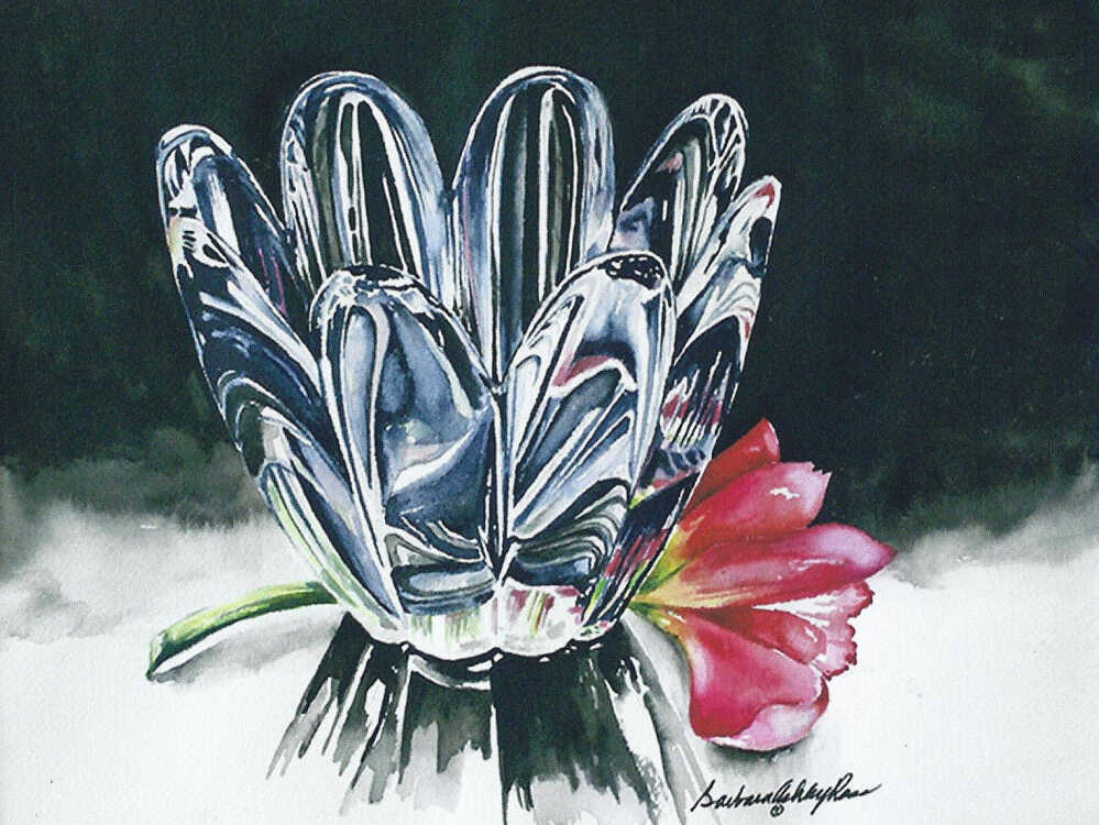 Submitted Story Sikeston Artist Barbara Ross At The