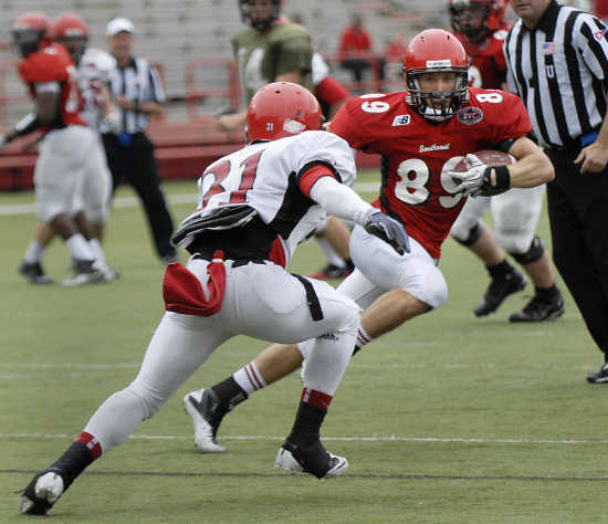 Southeast missouri state held their spring football game on saturday