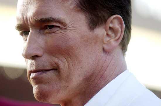 arnold schwarzenegger now and before. Arnold Schwarzenegger is seen