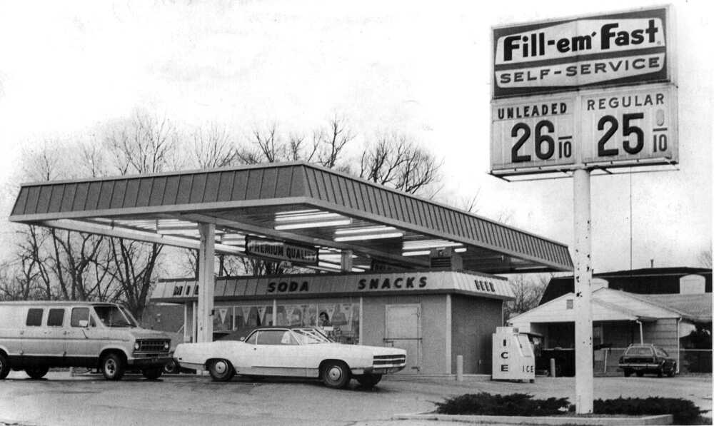 Image result for 25 cents a gallon gasoline