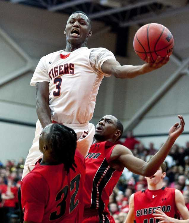 High School Sports Central Boys Basketball Team Upsets