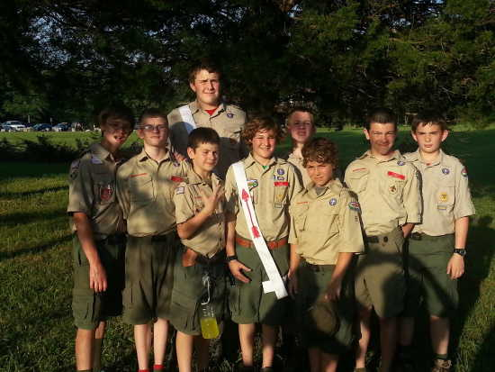 Submitted Photo: Boy Scout Troop 5 at Camp Lewallen (6/21/14 ...