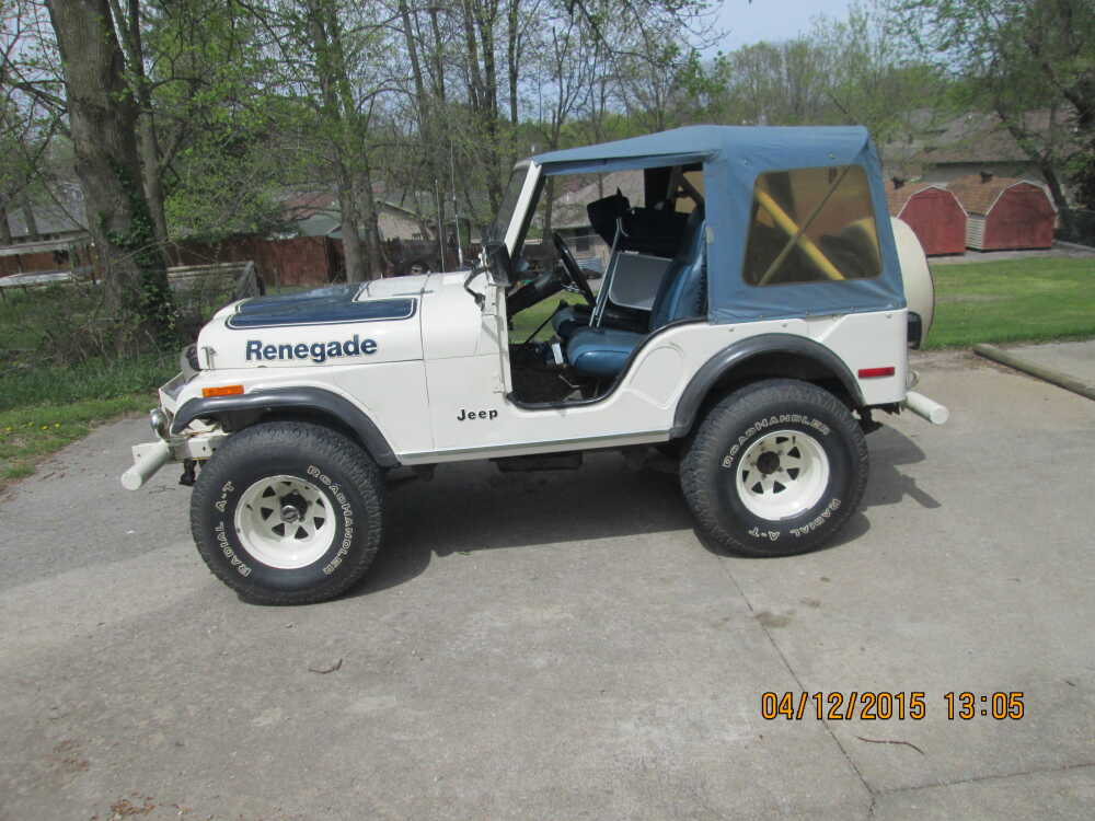Submitted Story Ride Of The Week 1977 Jeep Cj5 Renegade