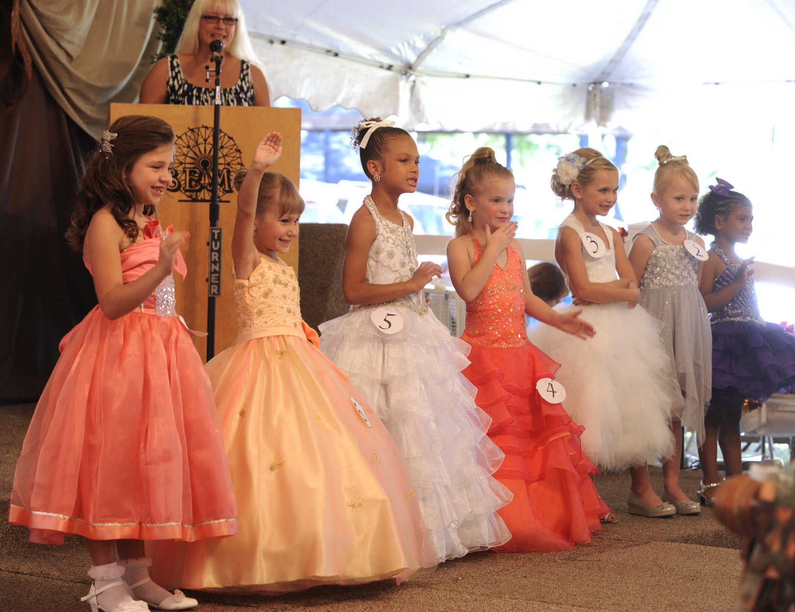 Miss missouri state fair pageant - Pageant Contestants For Little Miss Semo Fair Pose For The Judges Sunday Sept 13 2015 At The Semo District Fair In Cape Girardeau Fred Lynch