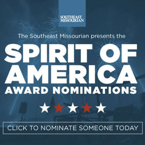 Spirit of America Award: Nomination deadline is June 14