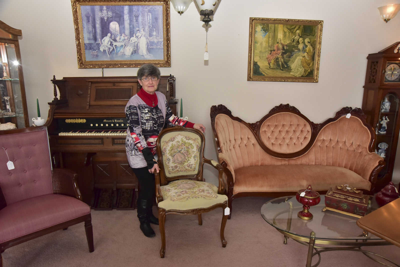 owner of Advance Wise Buys  poses for a photo in her store Friday   March 17  2017 in Advance  Advance Wise Buys is an antique shop along with  furniture. Photo gallery  Advance Wise Buys  4 14 17    Southeast Missourian