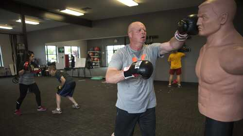 Fighting back: Boxing group offers strength training, camaraderie for those with Parkinson's