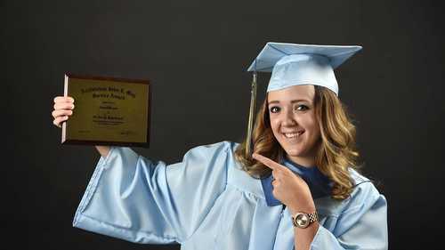 Alayna Layton: St. Vincent High School valedictorian