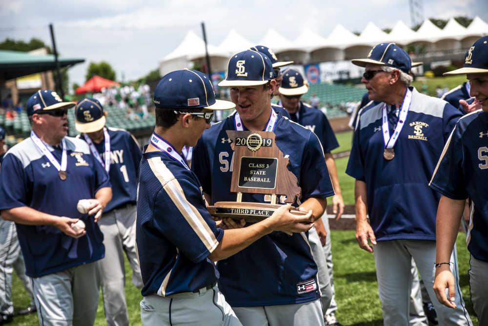 Class 3 Third Place game -- Saxony Lutheran vs Montgomery County