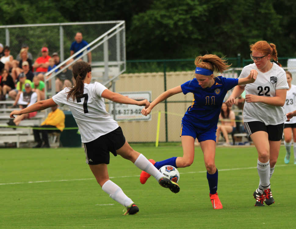Class 1 girls soccer semifinal: St. Vincent vs. New Covenant Academy