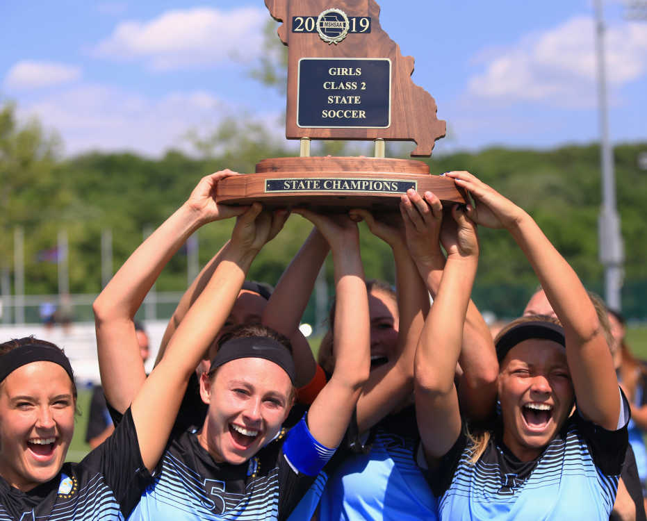Class 2 girls soccer championship game: Notre Dame vs. Visitation Academy