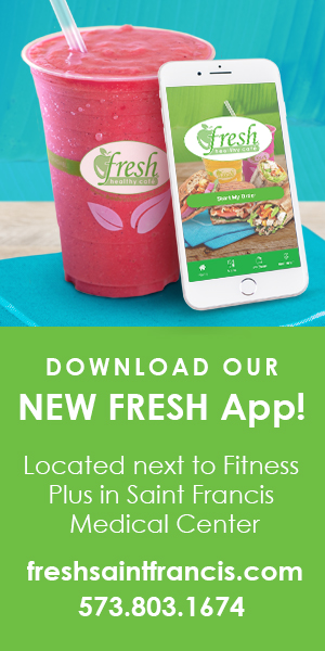 Download our new Fresh App - Located next to Fitness Plus in Saint Francis Medical Center