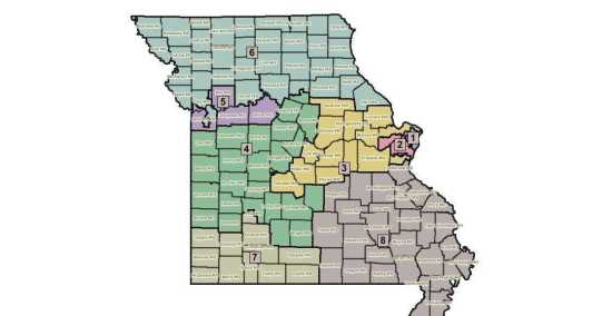 Local News Mo House Passes Plan For New Congressional Districts 4 - Missouri-us-house-district-map