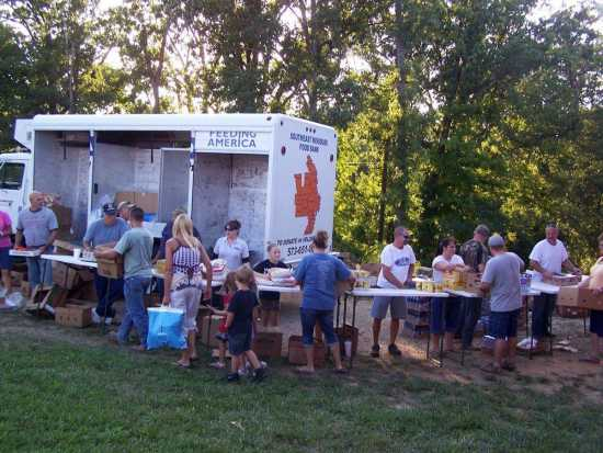 Community: Churches help hungry with mobile food bank (8/5/12
