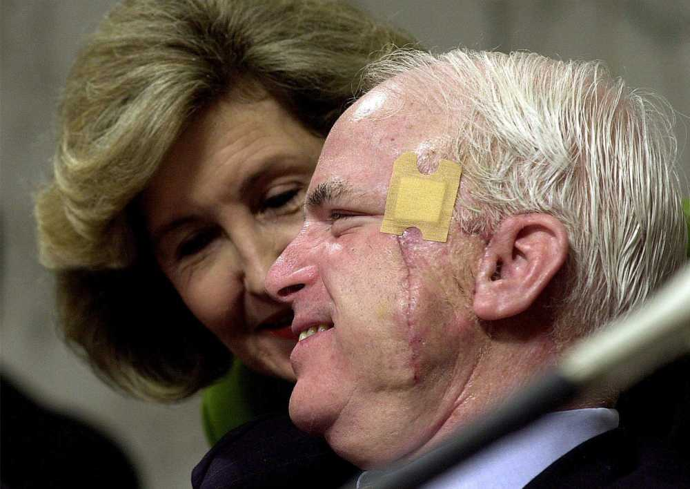 Image result for mccain surgery cancer