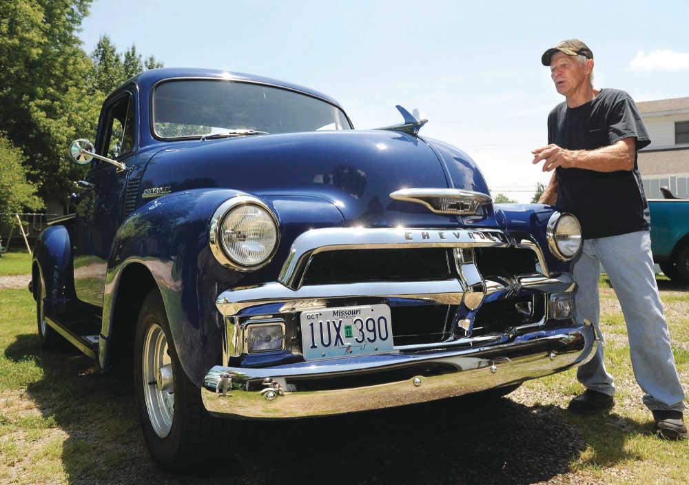 Community: Howard Perr has restored his 1954 Chevrolet truck he ...
