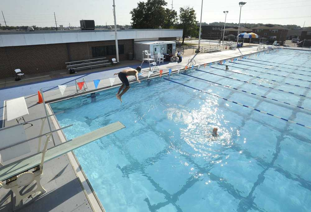 High School Swim Teams Use The Central Municipal Pool After Friday In Cape Girardeau