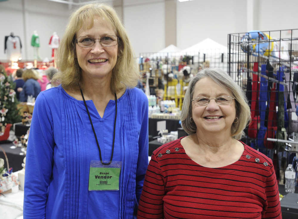 While looking at toys with her son, former Cape Girardeau resident Tracie  Barclay of St. Charles, Missouri, said the craft-fair weekend has gained  the ...