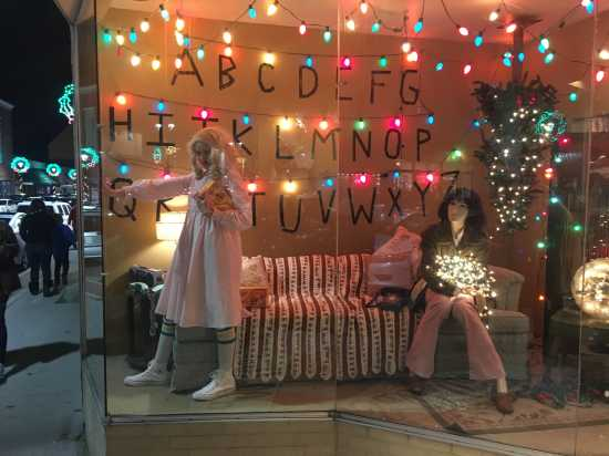 oliva walker aka eleven as a character from the netflix series stranger things - Stranger Things Christmas Decorations