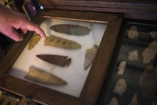 Community: Emmett 'Butch' Bounds proves Indian artifacts