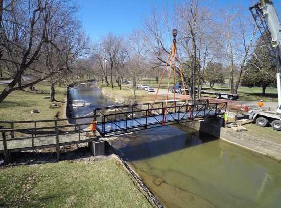 Local News: New Hubble Creek footbridge in Jackson City Park ...
