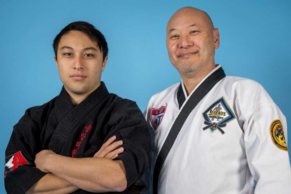 Community: Still kicking': John Johnson and son use taekwondo to