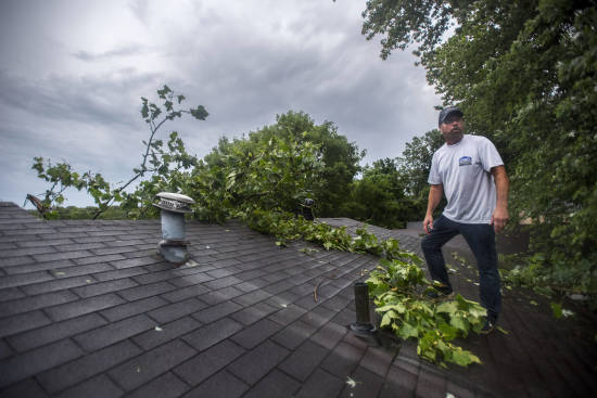 Local News: Storm leaves wide path of damage, outages in