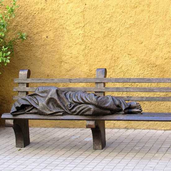 Amazing Local News Community Partnership Plans Homeless Jesus Spiritservingveterans Wood Chair Design Ideas Spiritservingveteransorg